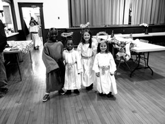 Living Nativity actors