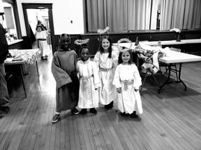 Living Nativity actors