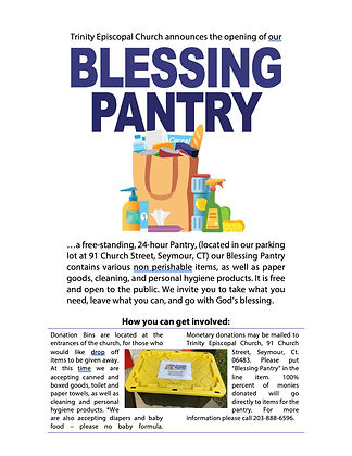 Blessing Pantry Flyer