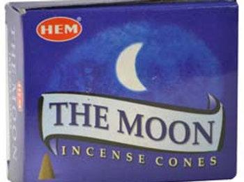 Moon HEM Incense Cones 10pk