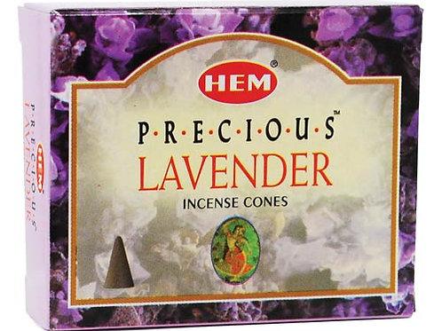 Lavender Incense Cones 10pk