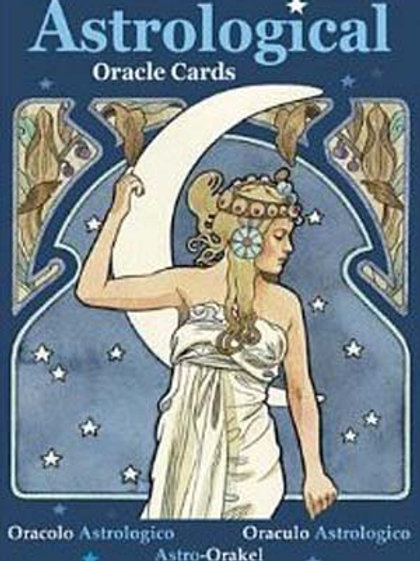 Astrological Oracl Cards by Lunaea Weatherstone