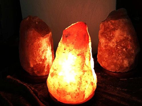 """Soothing Natural Himalayan Salt Lamp 8"""" to 9"""""""