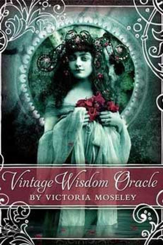 Vintage Wisdom oracle deck by Victoria Moseley
