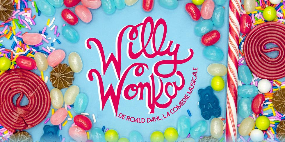 Willy Wonka de Roald Dahl, la comédie musicale! (Samedi 15 février)