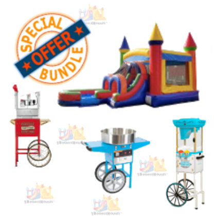 Standard Bounce House + 3 Concessions