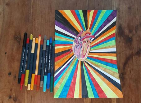 Rainbow (heart) words