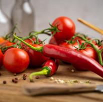 Fresh food peppers malia