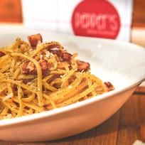 Pasta carbonara best dinner in crete
