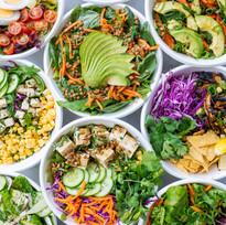 Healthy salad best in Crete Peppers