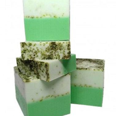 Jabón glicerina orgánica - Menta