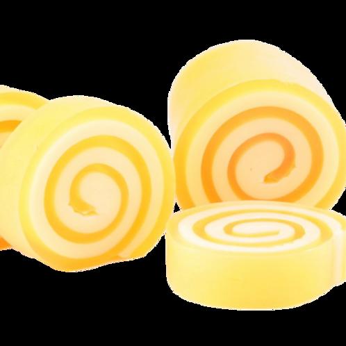 Jabón enrollado - Mandarina