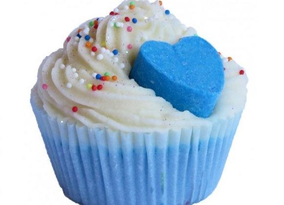 CupCake Cuore blue
