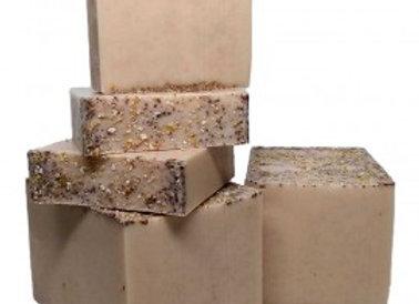 Jabón glicerina orgánica - Miel y avena