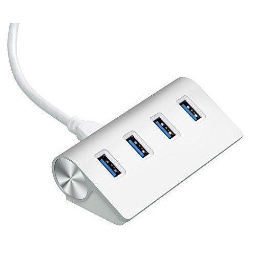 Cateck Bus-Powered USB 3 0 Premium 4 Port Aluminium USB Hub