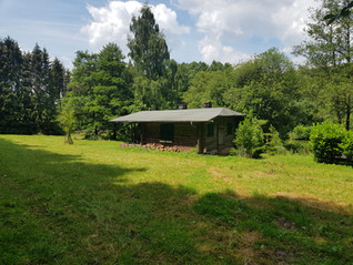 Blockhütte Hessen Angeln