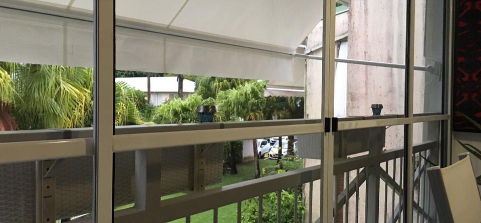 moustiquaire pour baie vitrée coulissante