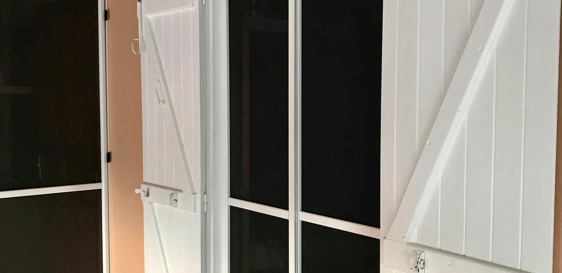moustiquaire coulissante baie vitrée