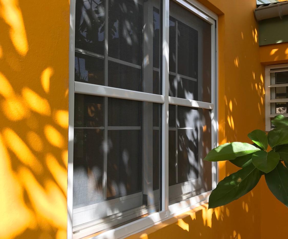 moustiquaire baies vitrees coulissantes