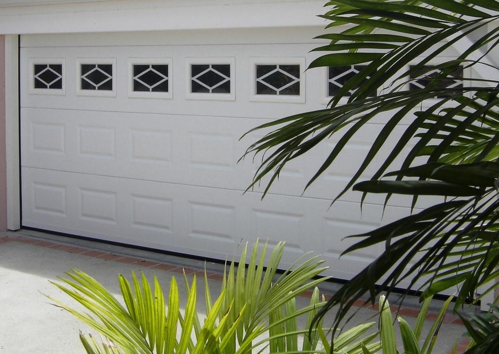 chantier porte de garage