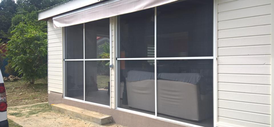 moustiquaire pour baie vitree