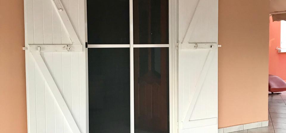 moustiquaire baie vitrée coulissante