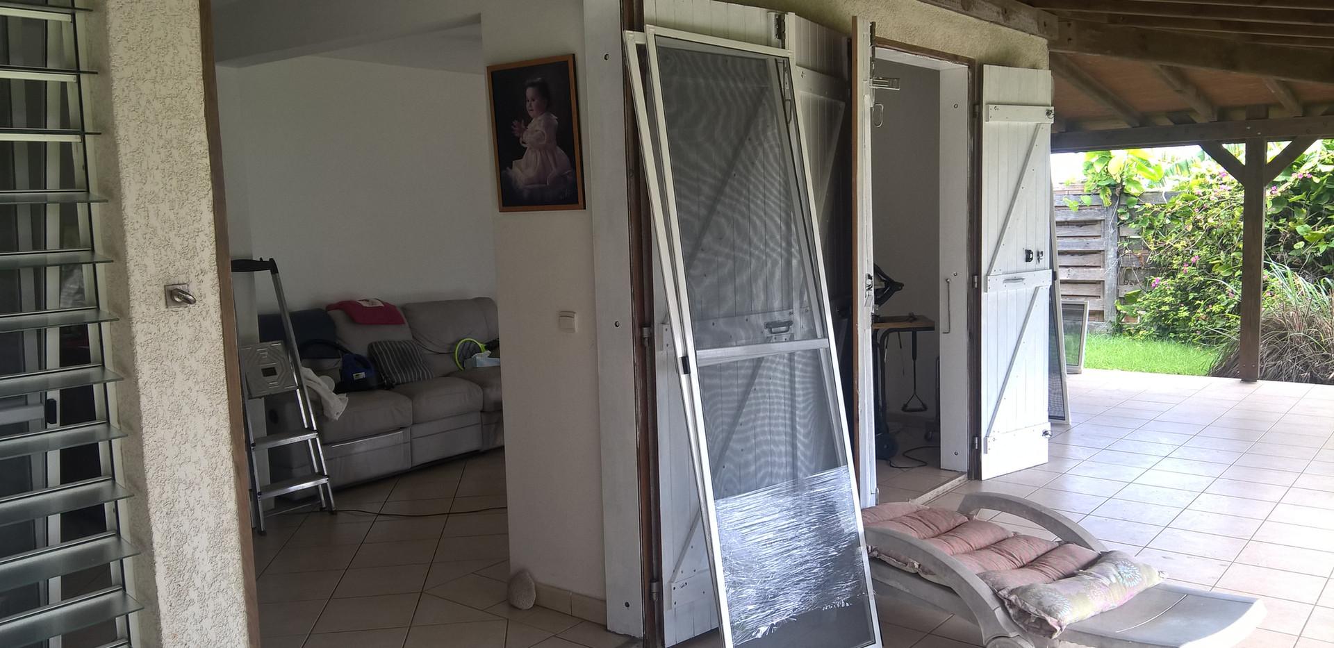 moustiquaires pour baies vitrées coulissantes