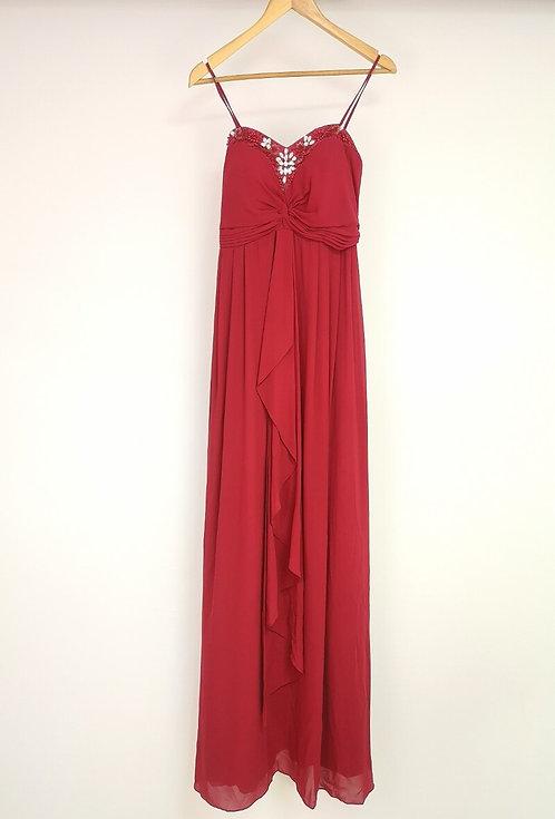 Ref8019 Robe femme fluide Beige