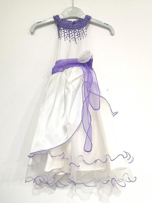 Ref20469 Robe fille violet