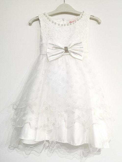 Ref811 Robe fille blanche