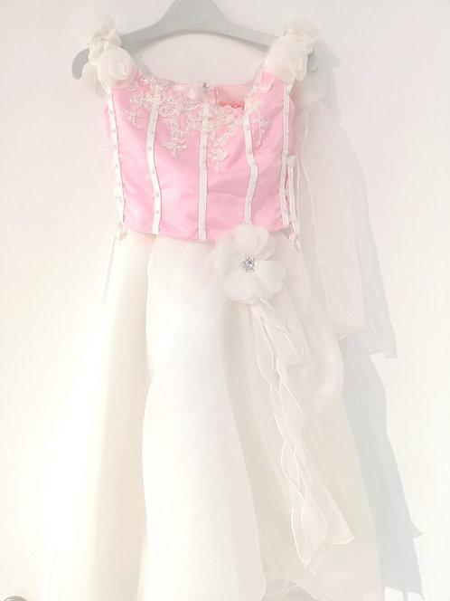 Ref902 Robe cérémonie rose