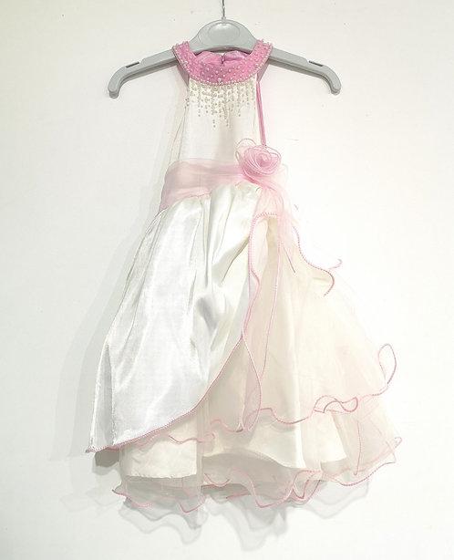 Ref20469 Robe fille rose