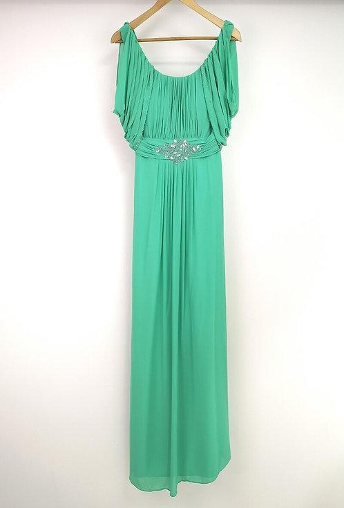 Ref8030 Robe femme fluide Vert
