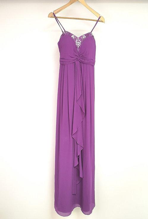 Ref8019 Robe femme fluide Violet