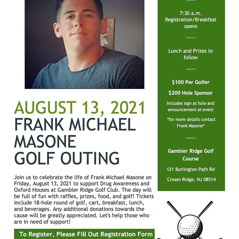 2nd Annual Frank Michael Masone Golf Outing