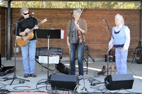 Sue Biggs, Jack Will and Elena Pate