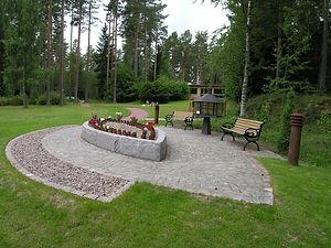 Minneslund Skogskyrkogården Eksjö