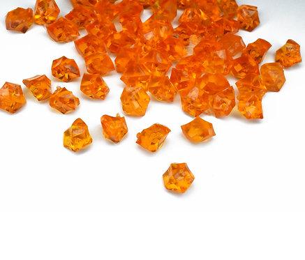 Акриловый камень Ice Rocks Orange, 10мм, 100гр