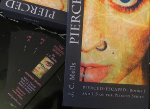 Win a signed paperback copy of PIERCED/ESCAPED! June 26th, 2014.