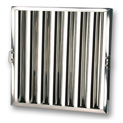 Stainless Steel Frame Baffle Filter 45mm Thickness