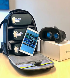 Viva Vita Headset and Tablet with packag