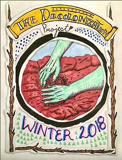 Cover of The Decolonization Project Zine 2018