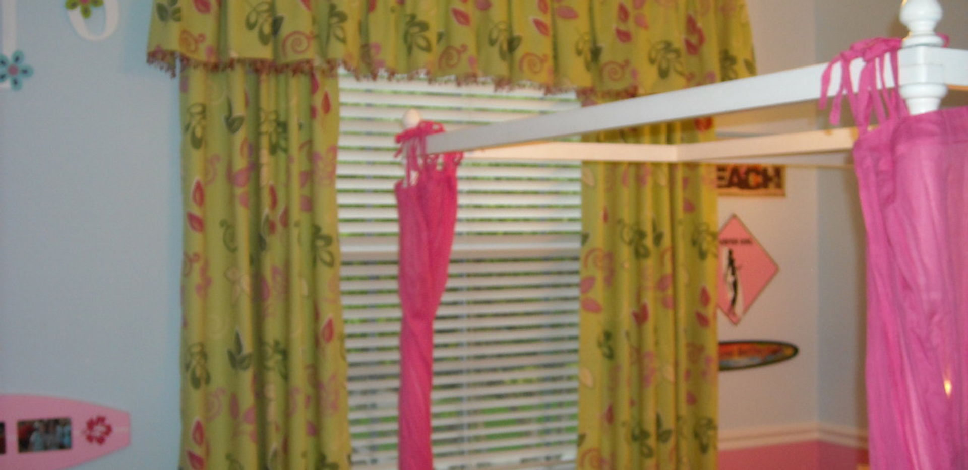 Pleated Valance and Panels