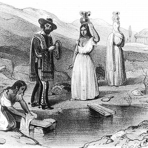 Ryan, William Redmond, Artist. Een waterplaats in Neder Californie. California, 1850. Photograph. https-::www.loc.gov:item:2002716774:.