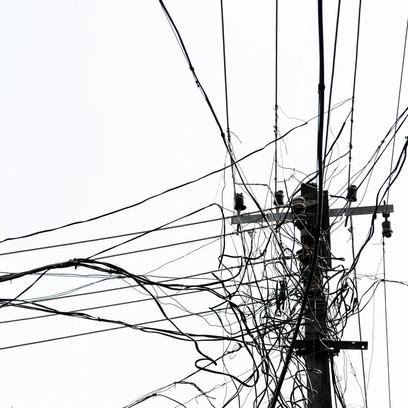 Lignes électriques - Inde