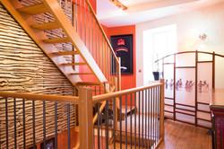 Escaliers et palier 1er étage