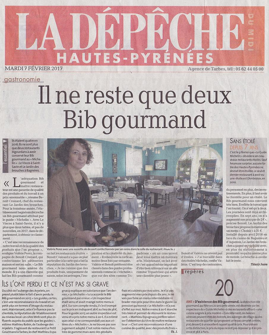Le Jardin des Brouches - Presse