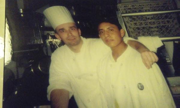 Chef Denis at BLT FISH kitchen in 2006