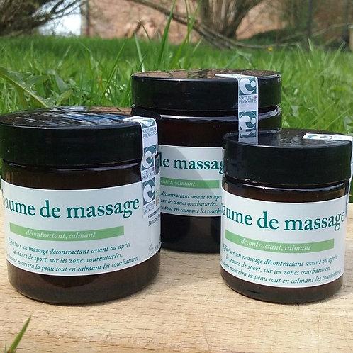 Baume de massage