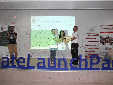 Rainergy won the 'Audience Favorite Startup' award at ClimateLaunchpad National Final!